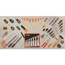 BETA 5980ET/A työkalulajitelma 69-osaa, mukana suojaeristettyjä työkaluja 1000V