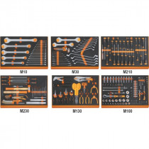 BETA 5988U6/M-ASSORTMENT OF 214 TOOLS