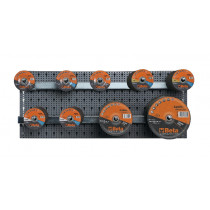 BETA 6600 M/851 Assortment of 170 abrasives with hooks without panel