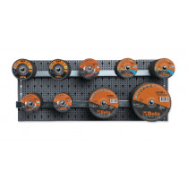 BETA 6600 M/859 Assortment of 170 abrasives with hooks without panel
