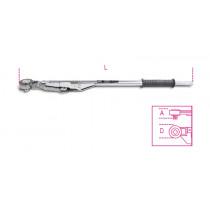 """BETA TOOLS 677/C100 """"BREAK-BACK"""" -mallinen varresta taittuva mekaaninen momenttiavain salkussa, oikea- ja vasenkätinen säätöalue  Nm 300÷1000"""