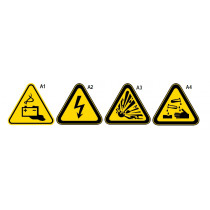 BETA 7109A1 varoituskilpi, alumiinia