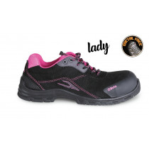 BETA 7214LN Women's suede shoe, waterproof, with anti-abrasion insert in toe cap area.