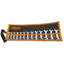 BETA 73/B13 pienet avaimet-sarja (TUOTE 73) taskussa 13-avainta koot 4-4,5-5-5,5-6-7-8-9 10-11-12-13-14 mm