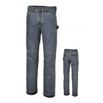 BETA 7526 M-WORK JEANS IN STRETCH DENIM.