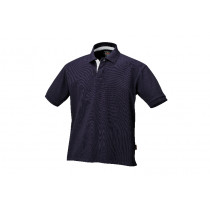 BETA 7546BL S-THREE-BUTTON POLO SHIRT BLUE.