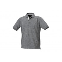 BETA 7546G L-THREE-BUTTON POLO SHIRT GREY.