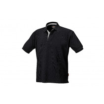 BETA 7546N L-THREE-BUTTON POLO SHIRT BLACK.