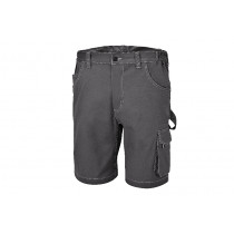 BETA 7831ST L-STRETCH BERMUDA SHORTS, GREY