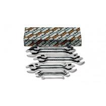 BETA 55MP/S13 kiintoavaimet (ITEM 55MP) sarja pakkauksessa, sarjassa 13-