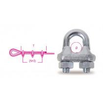 BETA 8016-2K 10 vaijerilukko, kuumataottu teräsrunko, galvanoitu 10mm, 2 kpl