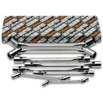 BETA 80/S8 nivelhylsyavaimet sarja (TUOTE 80) pakkauksessa 8-avainta, koot 6x7-8x9-10x11-12x13 14x15-16x17-18x19 20x22 mm