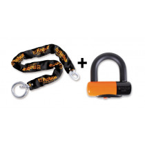 BETA 8131DL 10X900-DISC LOCK+ANTI-THEFT CHAIN