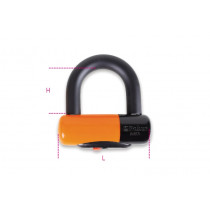 BETA 8139DL 14-MOTORCYCLE DISC LOCKS