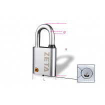 BETA 8139Z 10-PADLOCKS FOR ANTITHEFT CHAINS