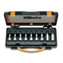 BETA 920TX/C9  sarjassa hylsyavaimet kannalle TX TORX® (ITEM 920TX) 9 avainta
