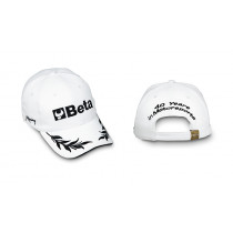 BETA 9525B-CAP ADJUSTAB. BUCKLE STRAP WHITE
