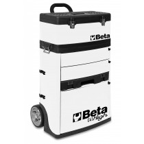 BETA TOOLS C41H-W  kaksimoduulinen trolli RAL 9016