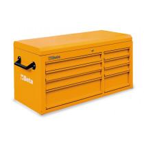 BETA TOOLS C38T-O   työkaluarkku 8:lla laatikolla liitettäväksi työkaluvaunuun C38