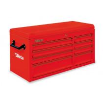 BETA TOOLS C38T-R   työkaluarkku 8:lla laatikolla liitettäväksi työkaluvaunuun C38