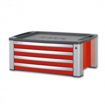 BETA TOOLS C39T-R  siirreltävä työkalulaatikosto 4 laatikolla. Voidaan asentaa vaunun C39 päälle