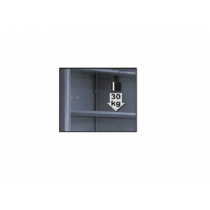 BETA TOOLS C55A1/R42  välihylly korkeaan, yksioviseen kappiiin C55A1