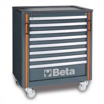 BETA TOOLS C55C8  liikuteltava työkaluvaunu 8:lla laatikolla, yhteensopiva C55-sarjan kalusteyhdistelmiin
