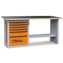 "BETA C59A-G-""ENDURANCE"" WORKBENCH 6 DRAWERS"
