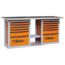"BETA C59B-G-""ENDURANCE"" WORKBENCH 6 DRAWERS"