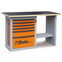 "BETA C59C-G-""ENDURANCE"" WORKBENCH 6 DRAWERS"
