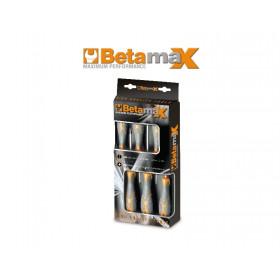 BETA TOOLS 1293/D6 ruuvitaltat, 6 kpl, riippupakkauksessa BetaMax