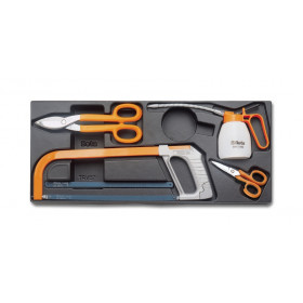 BETA T285-4 TOOLS + 5 BLADES IN THERMOFORMED