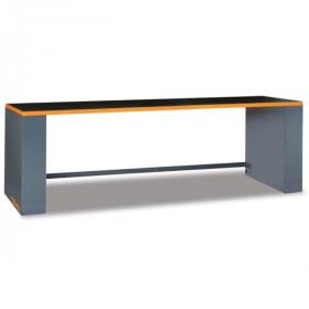 BETA TOOLS C55BO/2,8 työtaso jaloilla, leveys 2850, oranssi reunalista